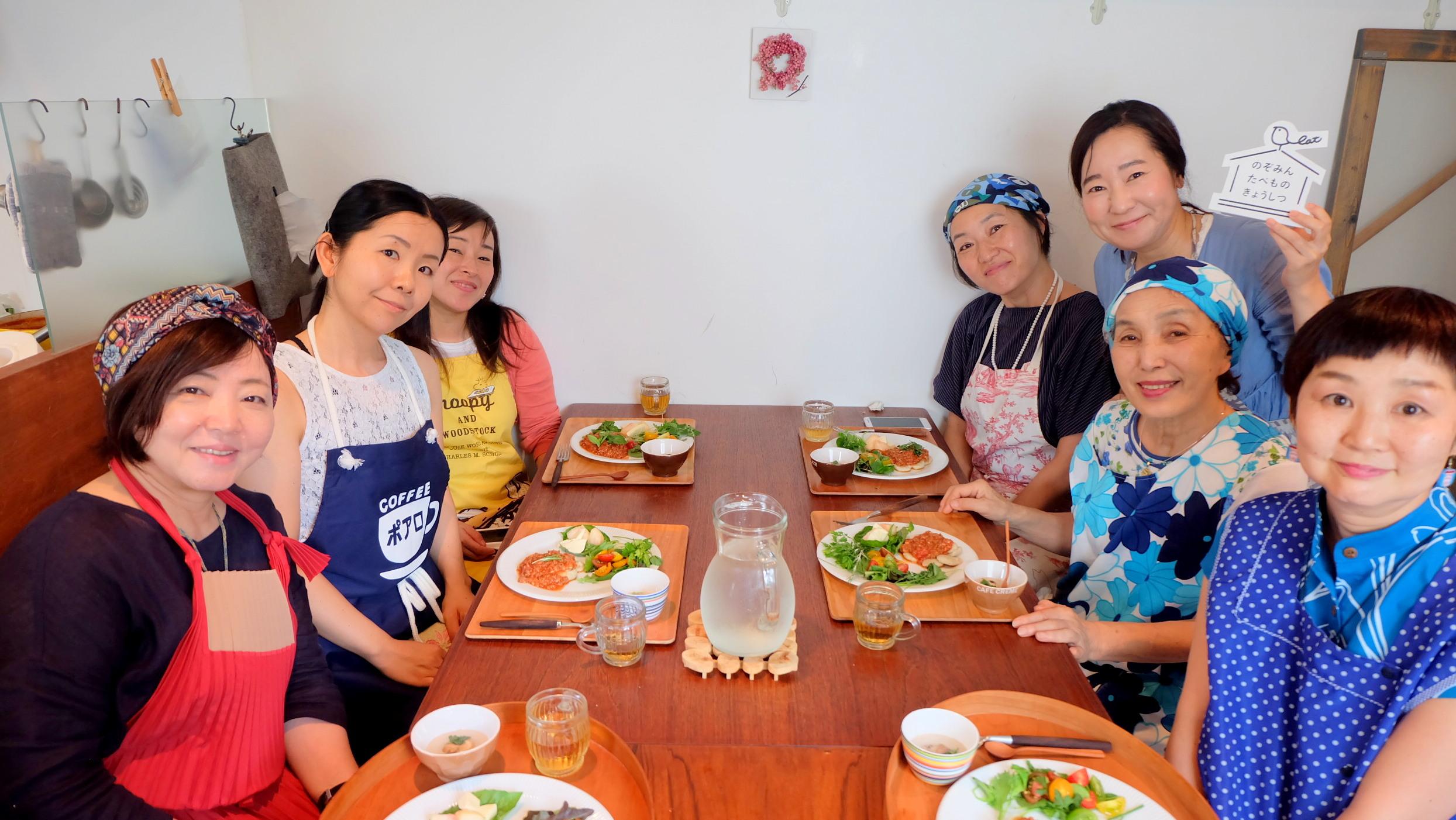 暑い夏こそ食べて欲しい! 8月13日は「発酵deイタリアン」のワークショップでした。