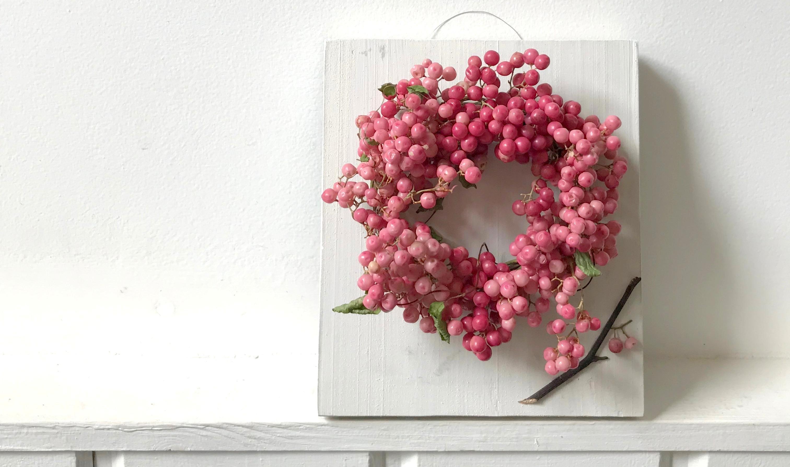 【ワークショップのお知らせ/9月22日】花のある暮らし「絵画のような手のひらサイズのリース作り」を開催します