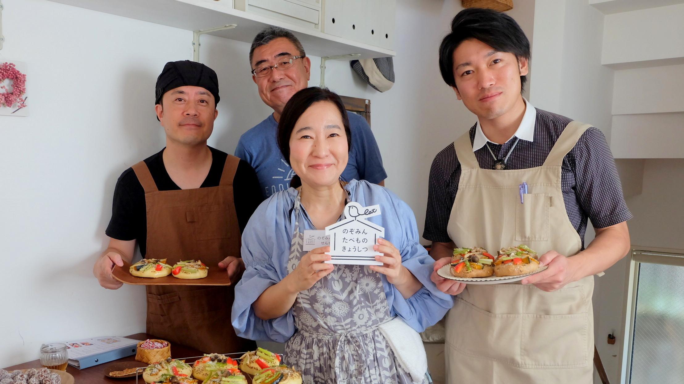 9月8日は「秋野菜のオープンサンド」のワークショップでした。