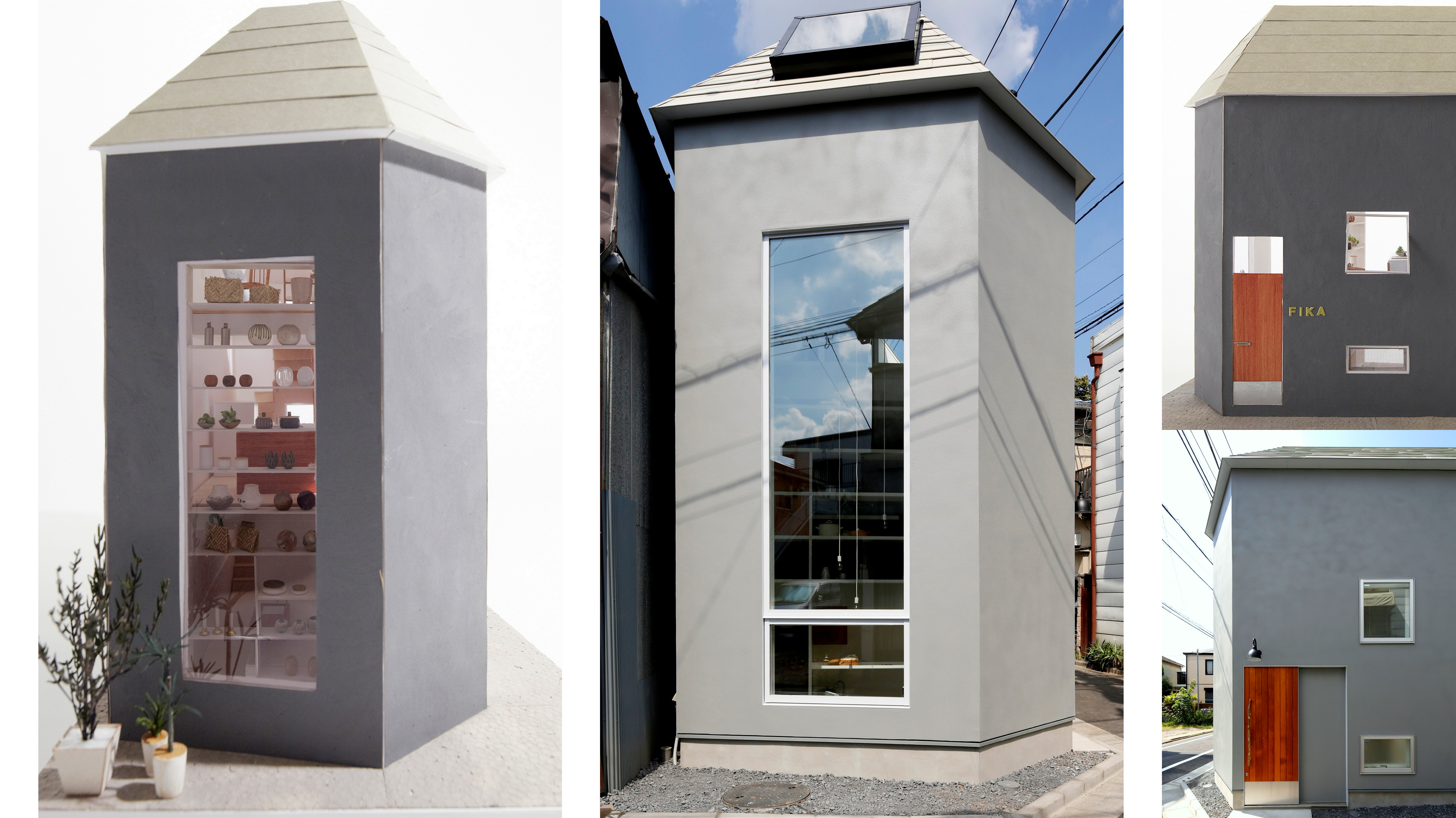 模型で見る、住居スペースの設計変遷。7坪ハウス流・建築家の選び方(後編)