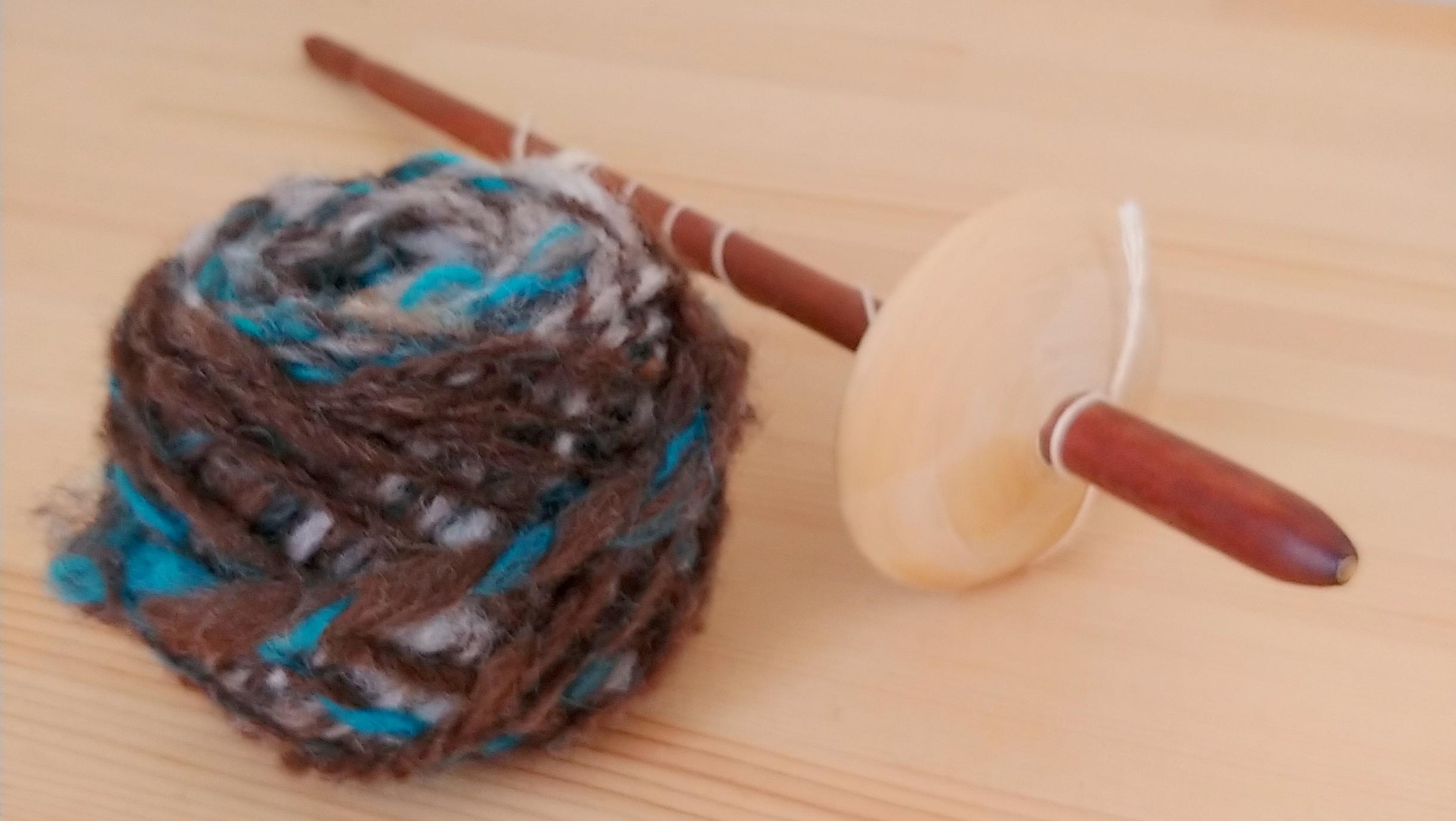 【手しごとFika】はじまります! 第1回めは「スピンドルでオリジナル糸を紡いでみよう」/2月16日(日)